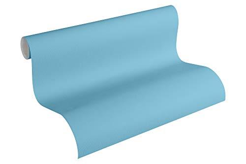 Esprit Kids Papiertapete Space Tapete Uni 10,05 m x 0,53 m blau Made in Germany 358302 35830-2