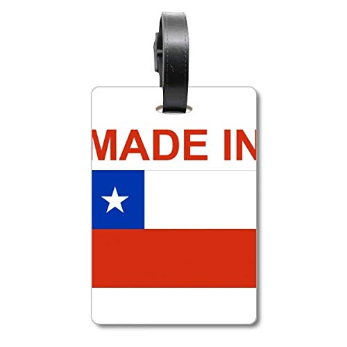 Etiqueta para maleta hecha en Chile Country Love