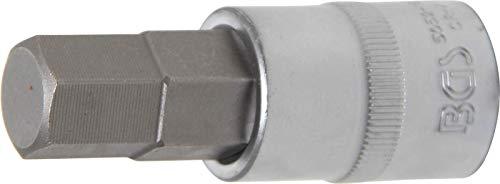 BGS 5052-16 Bit-Einsatz Antrieb Innenvierkant 12,5 mm (1/2 Inch) Innensechskant 16 mm, Schlüsselweite