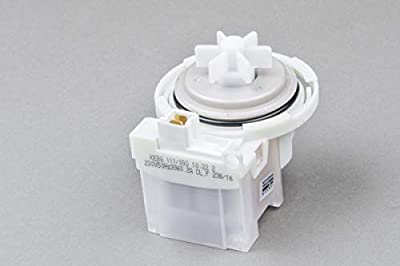 Washing Machine Drain Pump Motor BOSCH - Front Connectors