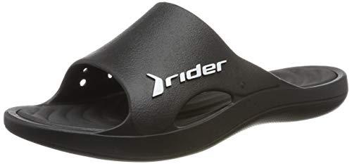 Rider Bay VIII Ad, Mules Hombre, (Black/Black 8023), 41 EU