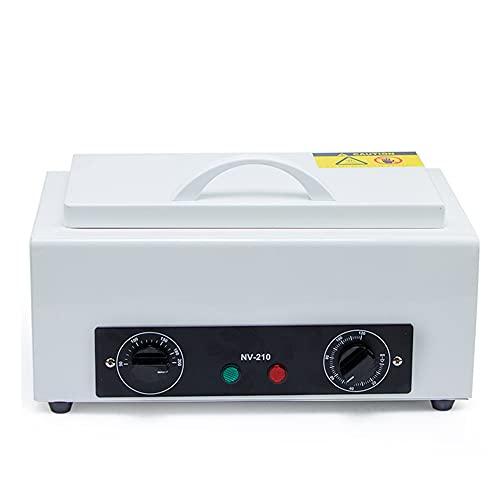 ZSH Caja de Limpieza para máquina desinfectante de Alta Temperatura, gabinete para esterilizador de Herramientas Calentador de Toallas Caliente Multifuncional con Bandeja de Acero Inoxidable, 300W