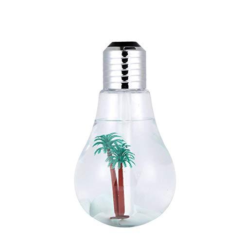 CYONGYOU 400 ml colorido bombilla humidificador de aire hogar silencio 02