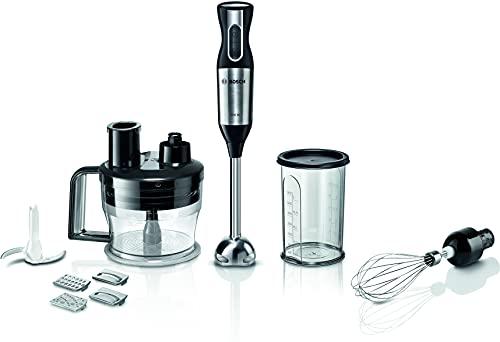 Bosch Elettrodomestici ErgoMixx Frullatore ad Immersione, 800 W, Metallo, Nero