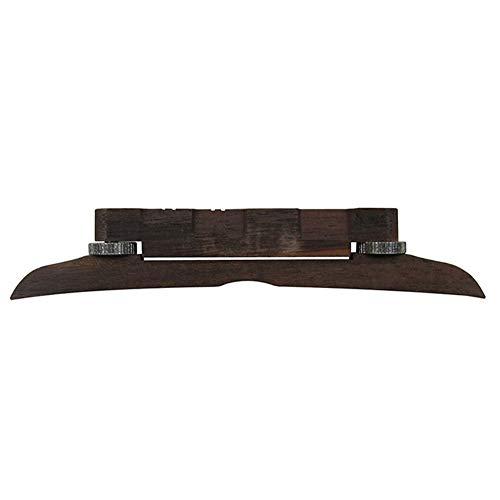 Mandolin-Code Gitarren-Code High-End-Adjustable Rose Material Brücke Instrumente Zubehör Einfache Anpassung ( Color : Brown )