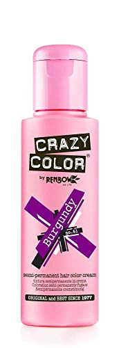 Crazy Color by Renbow 61 Burgundy 100 ml