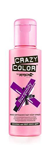 Crazy Color CRC026 Coloration Permanente Bordeaux - 100ml