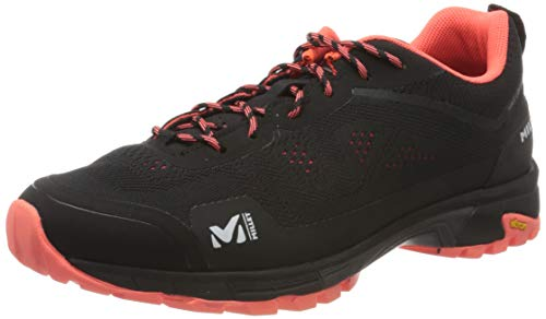 MILLET Women's Trail Walking Shoe, Black Noir, Womens 8