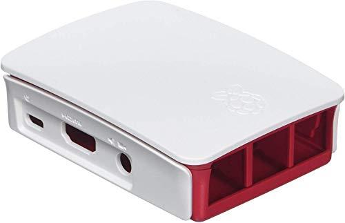 offizielles Gehäuse für Raspberry Pi 3 (himbeer / weiß)