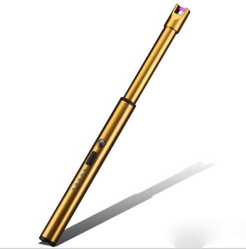 VSTON - Mechero eléctrico de vela, recargable por USB, resistente al viento,...