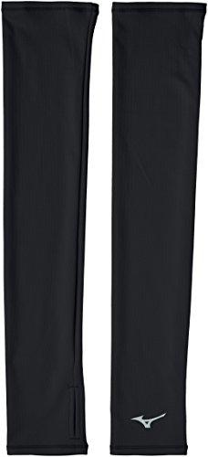 [ミズノ] ランニングウェア ブレスサーモ ランニングアームカバー J2JY7503 ブラック 日本 M (日本サイズM相当)