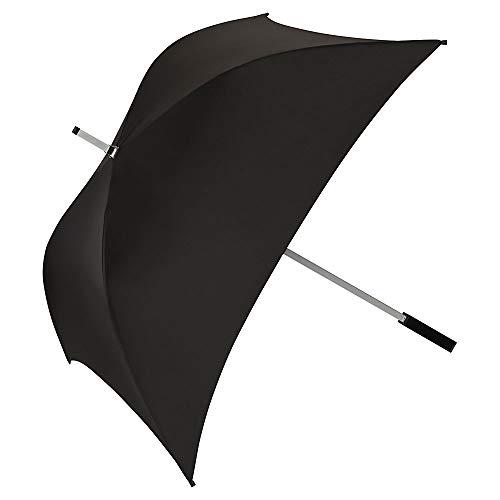 VON LILIENFELD® Ombrello Quadrata Donna Uomo Classico Charlie nero