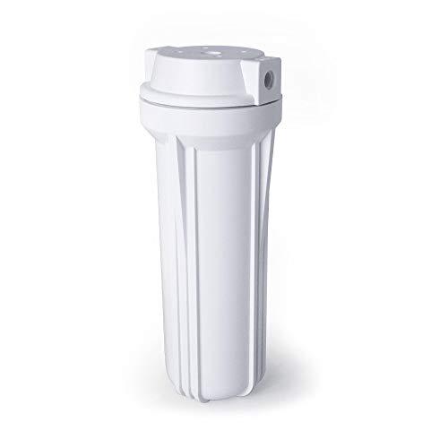 Vaso 10 blanco rosca 1/4 para equipo de osmosis inversa. Bbagua