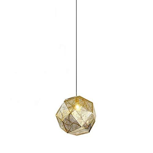 Lámparas de araña Oro de acero inoxidable creativo de la lámpara de la sala Comedor Dormitorio alta subida de escalera de la lámpara Lámpara colgante de acero inoxidable