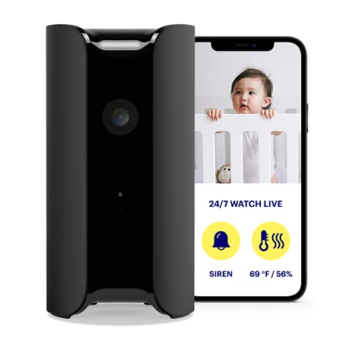 Canary Pro Indoor Home Security Camera with Premium Service (1 YR Free...