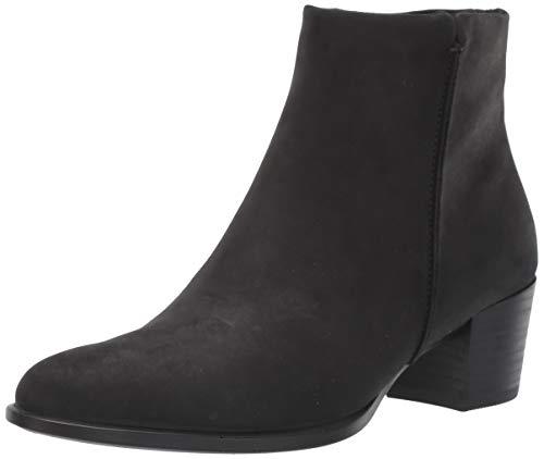ECCO Women's Shape 35 Stitch Ankle Boot, Black Nubuck, 41 M EU (10-10.5 US)