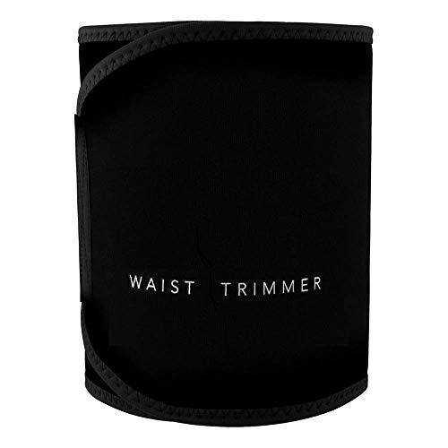 IVAR Weight Loss Belt Slim Body Neoprene Sweet Sweat Waist Trainer Premium Waist Trimmer for Men & Women - Stomach Fat Burner Wrap for Fitness, Workout, Exercise, Lumber Support.