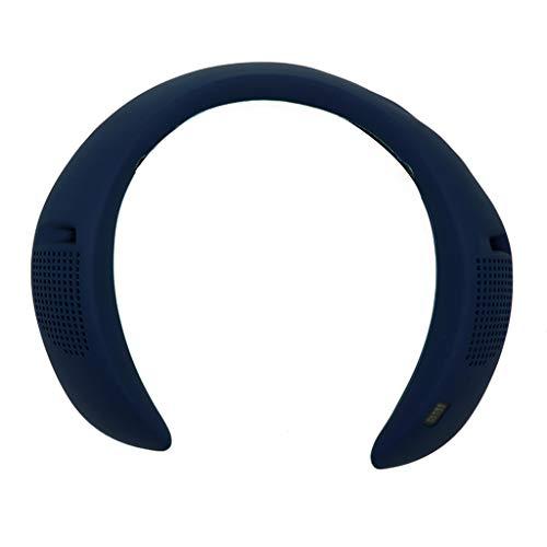 chenpaif Funda de Silicona, Funda de Silicona Funda Protectora de Carcasa para Bose-SOUNDWEAR Companion Altavoz Bluetooth de 30 Colgantes con Cuello Azul Marino