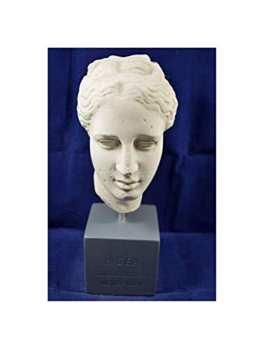 Busto de reproducción del Museo de la escultura de Hygeia diosa griega antigua de salud