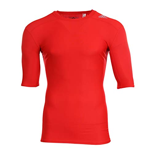 adidas Techfit Chill T-Shirt rot M
