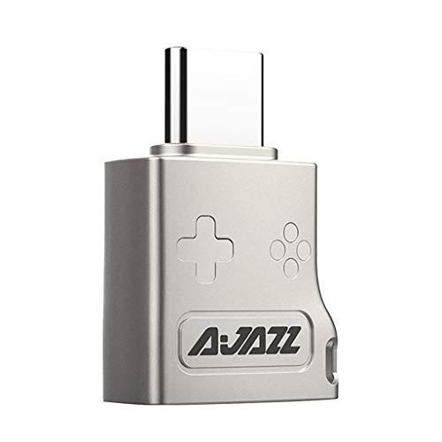 Toygogo Adaptador USB 3.1 a USB Tipo C Conector OTG Carga Rápida Y Sincronización de Datos