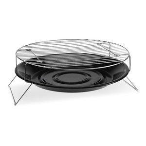 Tisch Top Tragbarer Grill 36 cm Holzkohle-Grill rund BBQ Grills für Camping Garten picninc & Outdoor