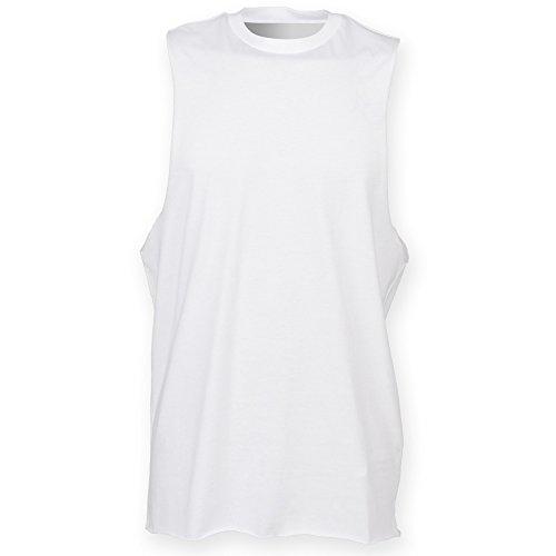 Skinni Fit - Débardeur sport - Homme (2XL) (Blanc)
