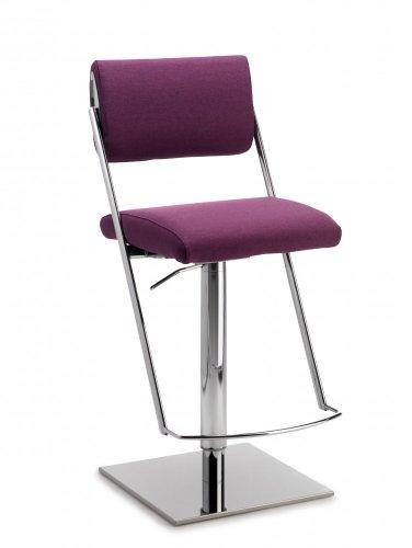 Mayer Sitzmöbel Barhocker Tresenhocker JET LINE LIFT 1245 Sitz-/Rücken Bezug Stoff oder Kunstleder Bezug 26279