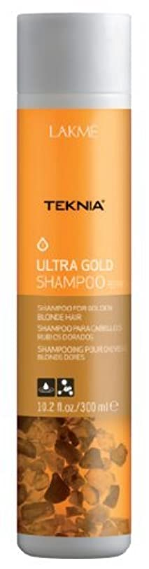 レンダリング滞在ましいLakme Teknia - Ultra Gold Shampoo - 300ml / 10.2oz by Lakme Cosmetics [並行輸入品]