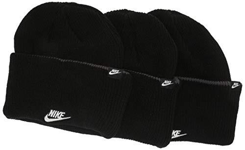 Nike Sportswear Gorro, Unisex Adulto, Black, Talla Única
