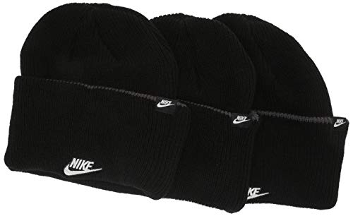 Nike Unisex Sportswear Baskenmütze, schwarz, Einheitsgröße