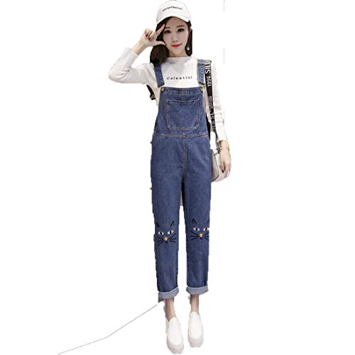 Saoye Fashion Peto Mujer Vintage Ajustable Vaqueros Moda Straps Monos Elegantes Casuales...