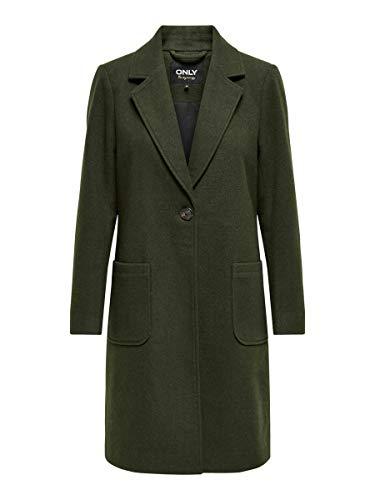 ONLY Damen ONLOLIVIA-Astrid Wool Coat OTW Mäntel, Rosin, S
