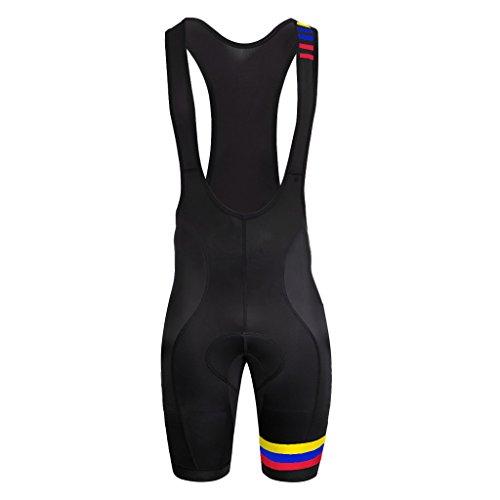 Uglyfrog Bike Wear Salopette Ciclismo Optimum-Pantaloncini da Ciclismo da Uomo con Imbottitura in Gel, da Ciclismo, Pantaloncini Aderenti Regalo per Gli Amanti della Bicicletta