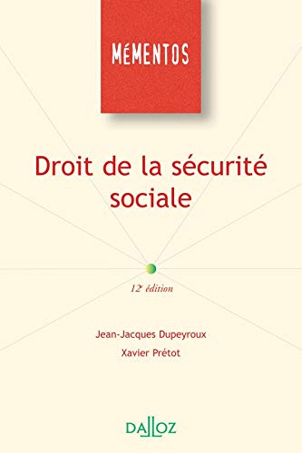 Droit de la sécurité sociale - 12e éd.