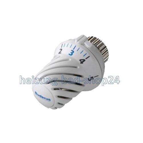 Zubehör Buderus Kompaktheizkörper: Buderus Thermostatkopf BD-W0 Klemmanschluss, mit Nullstellung