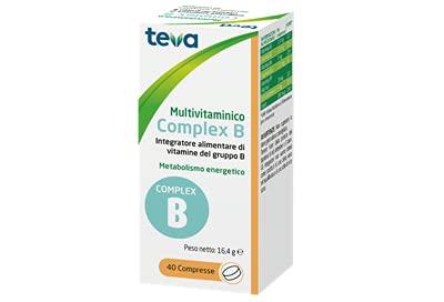 Teva Multivitamínico Complex B – Complemento alimenticio de vitaminas del grupo B