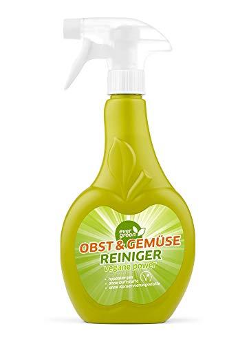 Evergreen Obst- und Gemüsereiniger, Reinigungsmittel für Obst und Gemüse (500 ml)