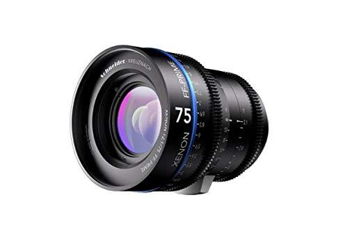 Schneider-Kreuznach 1078478 Cine Objektiv FF-Prime T2.1/75 mm, Nikon/m schwarz