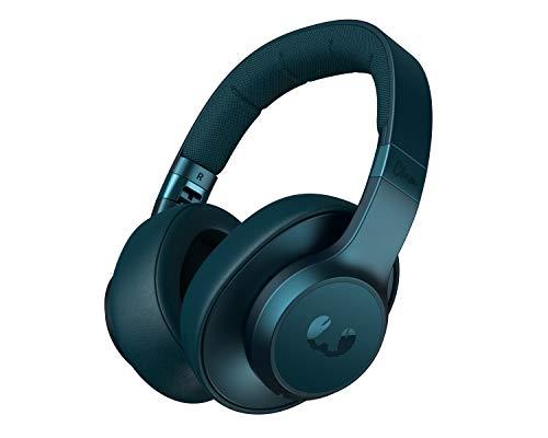 Fresh 'n Rebel Headphones Clam ANC Petrol Blue, Over-Ear Auriculares Bluetooth con Cancelación de Ruido