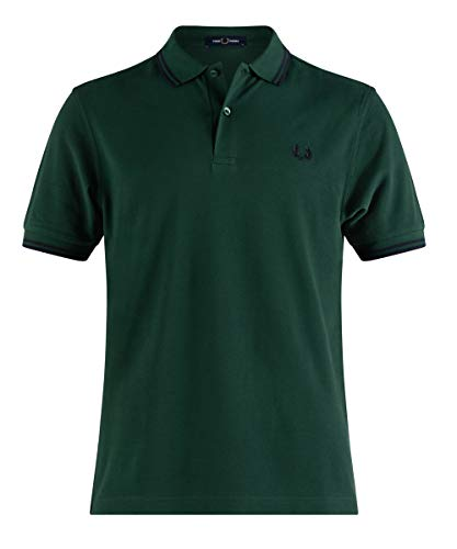 Fred Perry M3600 Polo, Verde, M Uomo