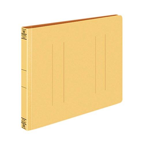 コクヨ フラットファイル 紙表紙 樹脂製とじ具 2穴 A4横 250枚収容 黄 フ-W15NY