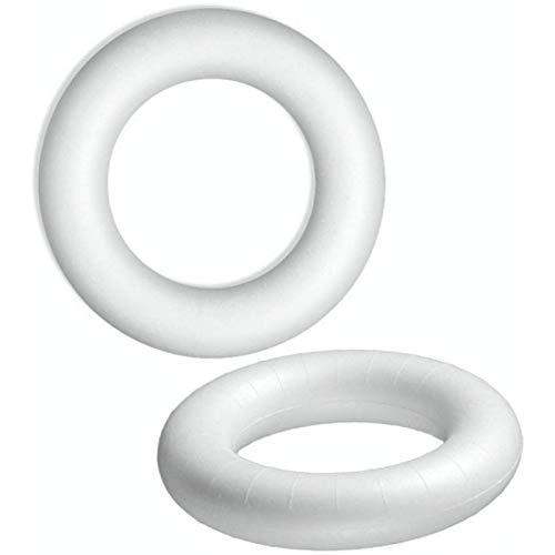 Lealoo/®/- Cerchi metallici diametro 18/cm epossidici confezione da 5 per paralume // acchiappasogni