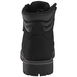 Lugz Women's Grotto II Fashion Boot, Black/Charcoal, 9 M US