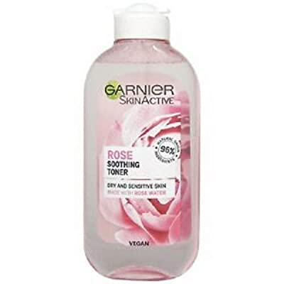 Garnier Natural Rose Water Toner Sensitive Skin 200ml (Packaging may vary)