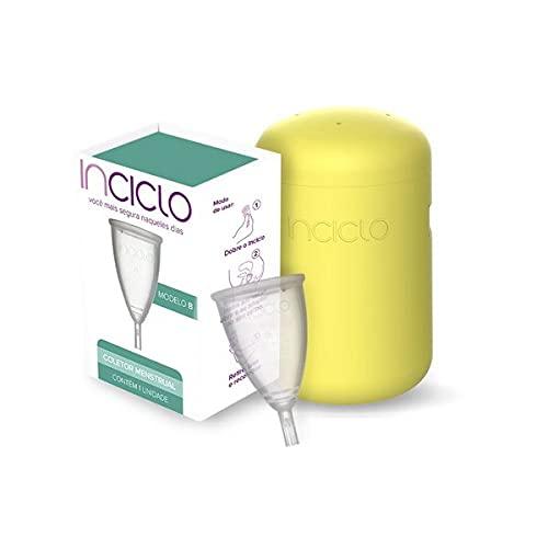 Coletor Menstrual Inciclo Modelo B + Capsula Esterelizadora (Girassol)