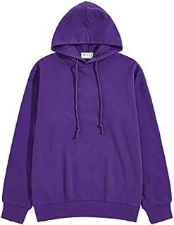 The SV Style Unisex Plain Purple Hoodie/Graphic Printed Hoodie/Hoodie for Men & Women/Warm Hoodie/Unisex Hoodie
