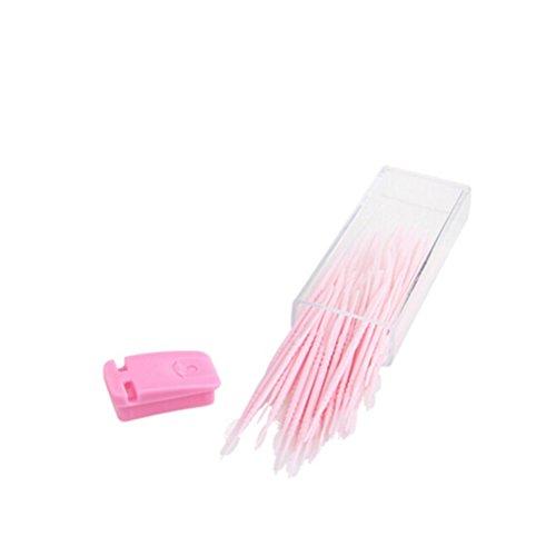 Ultnice Lot de 50 brossettes de nettoyage interdentaire en plastique
