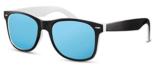 Occhiali da sole da uomo, colore: nero/bianco/blu (CWI2500)