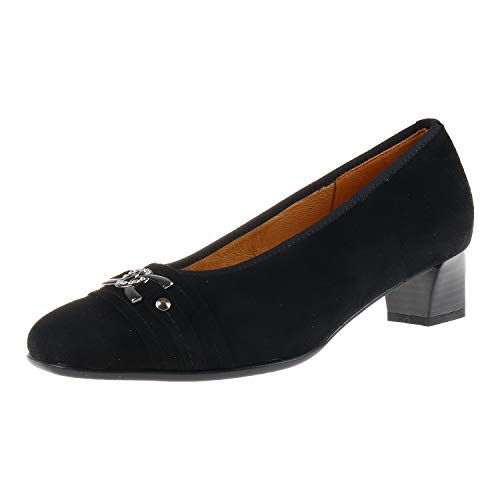 Muck Theresia by Naot Helga M 66930–015–000 Women's Classic Pumps Black Size: 3